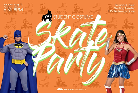 Student Skate Party Night