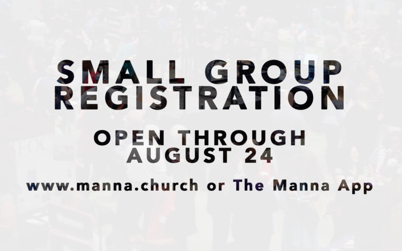 Small Group Registration