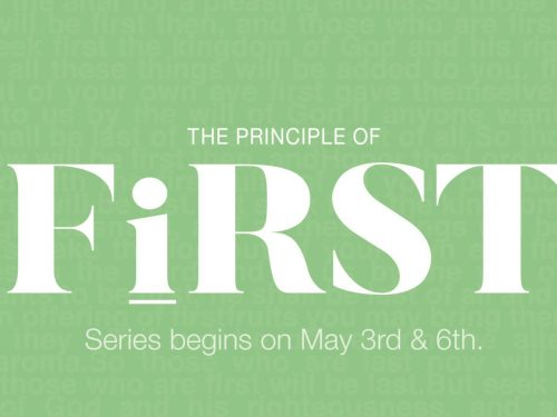 The Principle of First